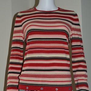 M Missoni Summer Striped Sweater